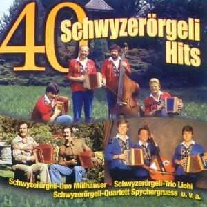 40 Schwyzerorgeli Hits