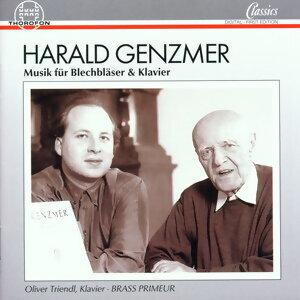 Harald Genzmer: Musik fur Blechblaser & Klavier