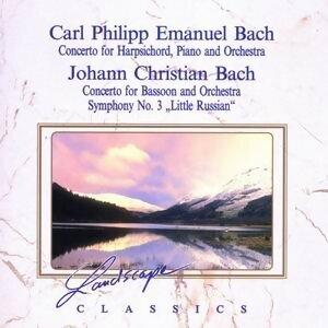 Carl Philipp Emanuel Bach: Konzert fur Hammerklavier, Cembalo & Orchester & Johann Christian Bach: Konzert fur Fagott & Orchester