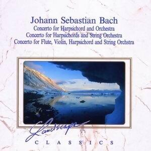 Johann Sebastian Bach: Konzert fur Cembalo & Orchester, F-Moll, BWV 1056 - Konzert fur 3 Cembali & Streichorchester, D-Moll, BWV 1063 - Konzert fur Flöte, Violine, Cembalo & Streichorchester, A-Moll, BWV 1044