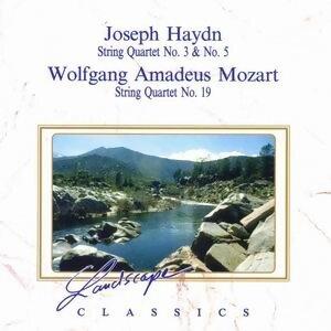 Haydn: Streichquartett Nr. 3, C-Dur, Streichquartett Nr. 5, F-Dur & Mozart: Streichquartett Nr. 19, D-Dur