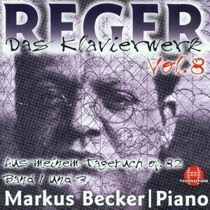 Max Reger: Das Klavierwerk Vol. 8