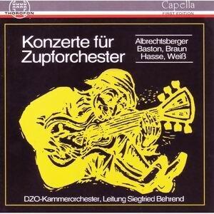 Konzerte für Zupforchester