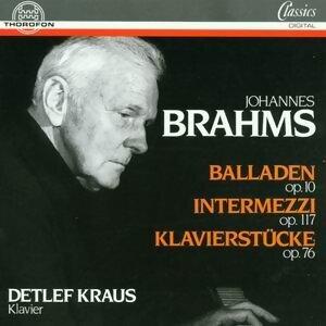 Johannes Brahms: Balladen, Intermezzi, Klavierstucke