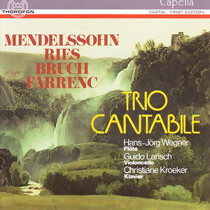 Mendelssohn, Ries, Bruch, Farrenc