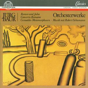 Jürg Baur: Orchesterwerke
