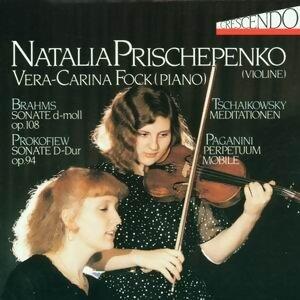 Johannes Brahms: op. 108 - Sergej Prokofiew: op. 94 - Peter Tschaikowsky: op. 42 - Niccolo Paganini: op. 11