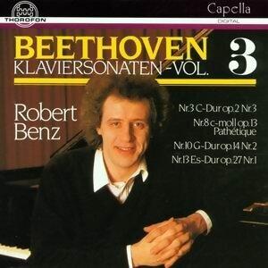 Ludwig van Beethoven: Klaviersonaten Vol. 3