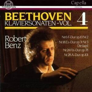 Ludwig van Beethoven: Klaviersonaten Vol. 4