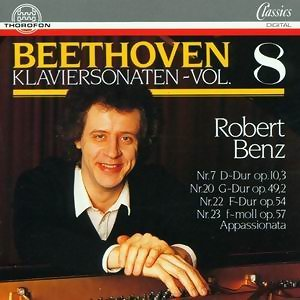 Ludwig van Beethoven: Klaviersonaten Vol. 8