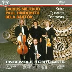 Milhaud, Hindemith, Bartok