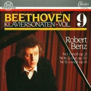 Ludwig van Beethoven: Klaviersonaten Vol. 9