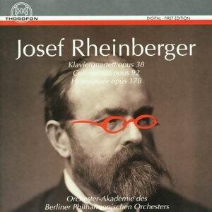 Josef Rheinberger: Klavierquartett op. 38, Cellosonate op. 92, Hornsonate op. 178