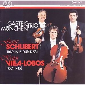 Franz Schubert: Trio in B-Dur, D.581 - Heitor Villa-Lobos: Trio