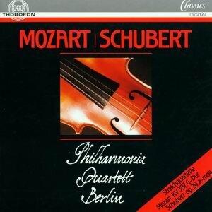 Wolfgang Amadeus Mozart: Streichquartett, G-Dur, KV 387, Franz Schubert: Streichquartett, A-Moll, op. 29