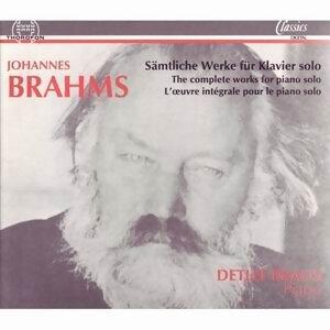 Johannes Brahms: Sämtliche Werke für Klavier solo