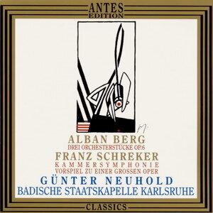 Franz Schreker, Alban Berg