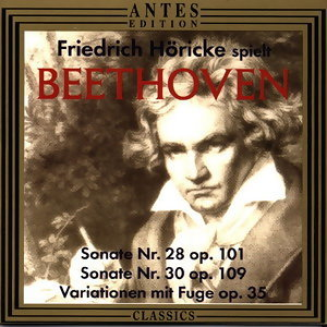 Ludwig van Beethoven: Friedrich Hoericke spielt Beethoven