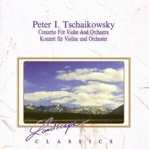 """Peter Iljitsch Tchaikovsky: Konzert für Violine und Orchester, D-Dur, op. 35 - Ouverture Solenelle """"1812"""", op.49 - Slawischer Tanz, op. 31"""