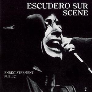 Escudero sur scene