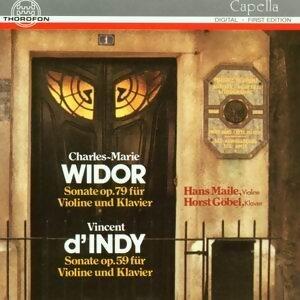 Charles-Marie Widor: Sonate op. 79, Vincent d'Indy: Sonate op. 59
