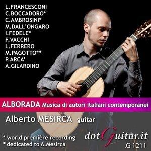 A.mesirca: Alborada - Musica di Autori Italiani Contemporanei
