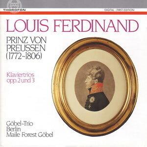 Louis Ferdinand Prinz von Preussen: Klaviertrios opp. 2 und 3
