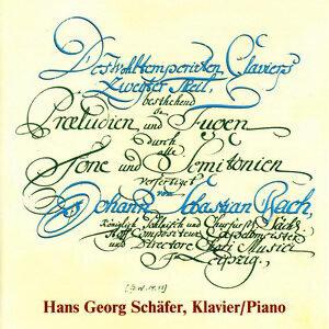 Johann Sebastian Bach: Das wohltemperierte Klavier 2. Teil