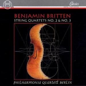 Benjamin Britten: Streichquartette