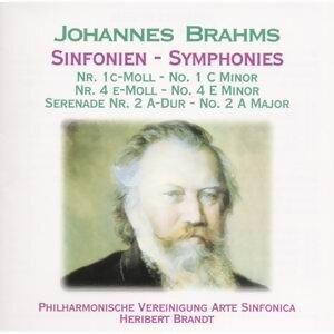 Brahms: Sinfonien Nr. 1 & 4