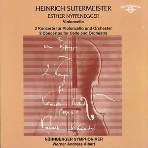 Heinrich Sutermeister: 2 Concertos for Cello and Orchestra