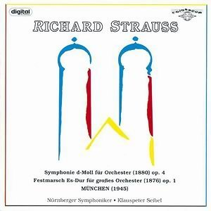 Richard Strauss: Symphony, Festive March and Waltz