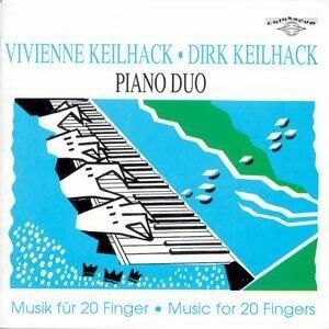 Franz Schubert, Johannes Brahms, Max Reger, Claude Debussy, Paul Hindemith, Werner Heider: Musik für 20 Finger