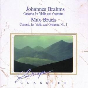 Johannes Brahms: Konzert für Violine & Orchester, op. 77 & Max Bruch: Konzert für Violine & Orchester, op. 26