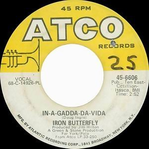 In-A-Gadda-Da-Vida / Iron Butterfly Theme [Digital 45]