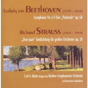"""Ludwig van Beethoven: """"Pastorale"""", Symphonie Nr. 6, op. 68 - Richard Strauss: """"Don Juan"""", op. 20"""