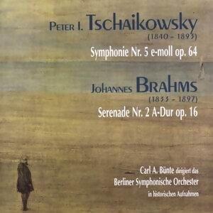 Peter Tschaikowsky: Symphonie Nr. 5, op. 64 - Johannes Brahms: Serenade Nr. 2, op.16
