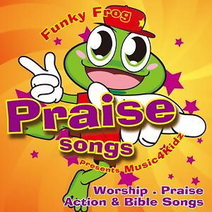 Funky Frog 1 - Worship And Praise Action & Bible Songs (讚美蛙 第一集)