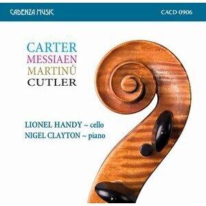 Lionel Handy Nigel Clayton - Carter Cello Sonata