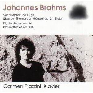 Johannes Brahms: Variationen und Fuge, op. 24, B-Dur - Klavierstücke, op. 76 - Klavierstücke, op. 118