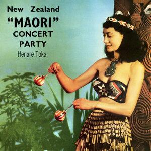 "New Zealand ""Maori"" Concert Party"