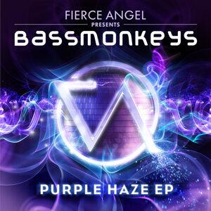 Fierce Angel Presents Bassmonkeys - Purple Haze EP