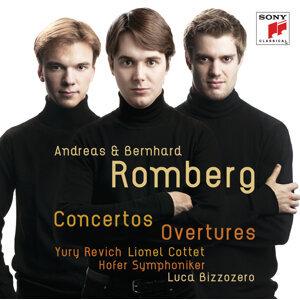 Andreas & Bernhard Romberg: Violin Concerto No. 3, Cello Concerto No. 2, a.o.