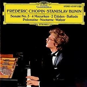 Chopin: Ballade op. 52; Nocture op. No. 2; 4 Mazurkas op. 33; Grande Valse Brillante op. 34 No. 3; Etudes op. 10 No. 12 / op. 25 No. 8; Sonate No. 3 op. 58; Polonaise op. 53
