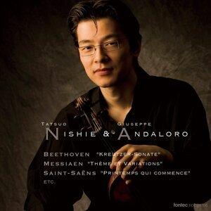 ベートーヴェン:ヴァイオリン・ソナタ第9番「クロイツェル」 メシアン:主題と変奏 サン=サーンス:歌劇「サムソンとデリラ」より''春は目覚めて'' 他