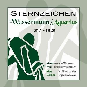 Sternzeichen Wassermann 21.1.-19.2.