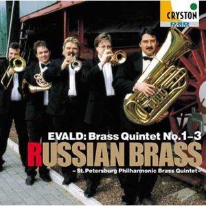 Evald:Brass Quintet No.1-3 (エヴァルド:金管五重奏曲集)
