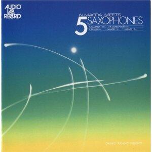 N.maeda Meets 5 Saxophones (前田憲男ミーツ 5サクソフォン)