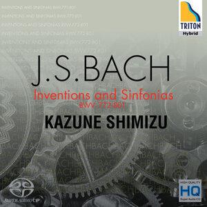 J.S.バッハ インヴェンションとシンフォニア BWV.772-801