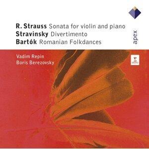 Strauss, Stravinsky & Bartók : Violin Sonatas - Apex